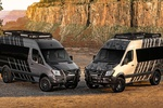Фургон Mercedes-Benz Sprinter превратили во внедорожный кемпер